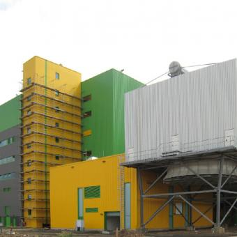 Ersatzbrennstoff- Heizkraftwerk