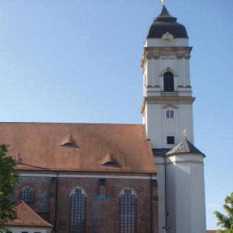 Ansicht des neu erbauten Doms aus Richtung Nord
